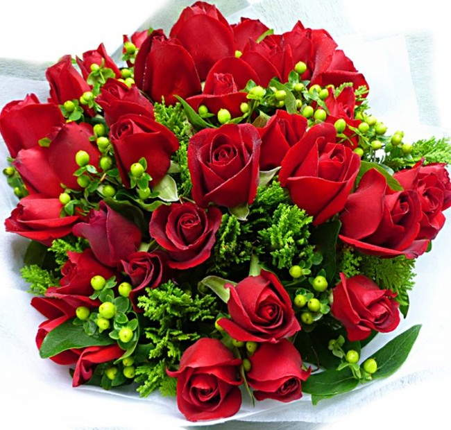 The gallery for --> Roses Bouquet For Birthday