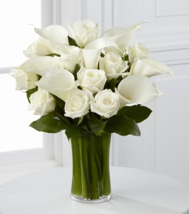 Happy Birthday Flowers White Rose 14 265×300