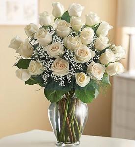 Happy Birthday Flowers White Rose 6 275×300