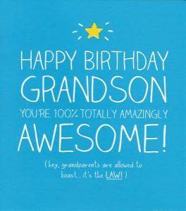 Happy Birthday Grandson 10 264×300