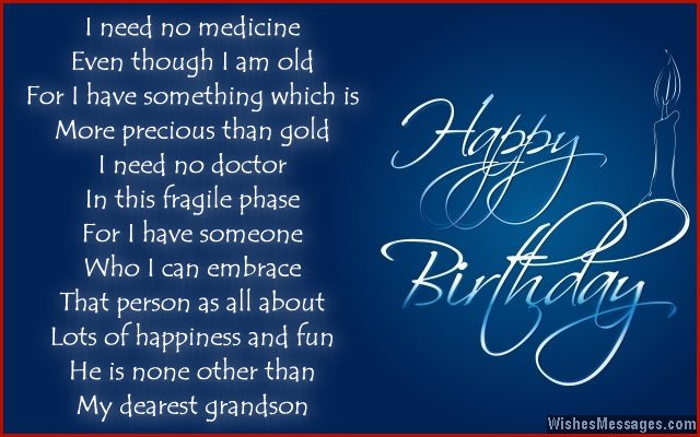 Happy Birthday Grandson 5