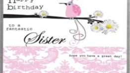 Happy Birthday Greeting Cards For Sister 6 272×300 262×148