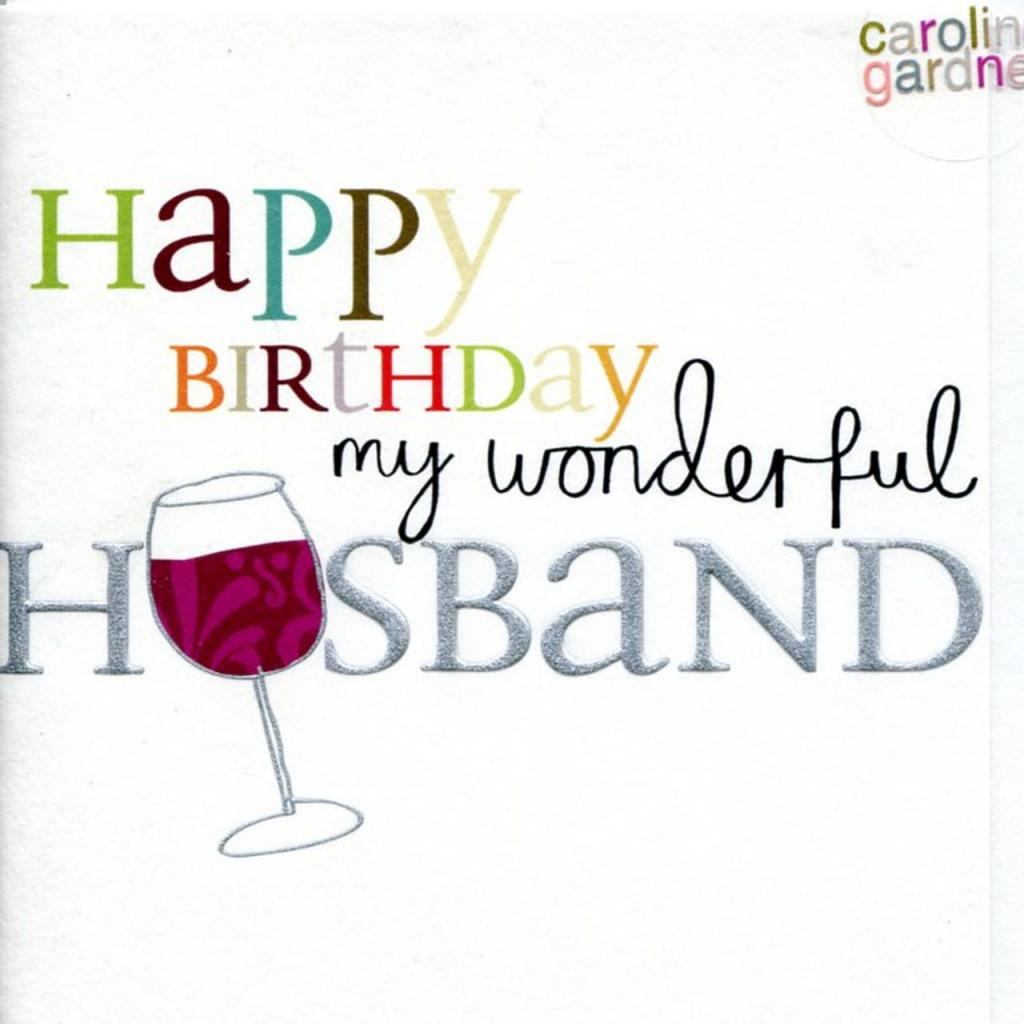 Happy Birthday Husband 4