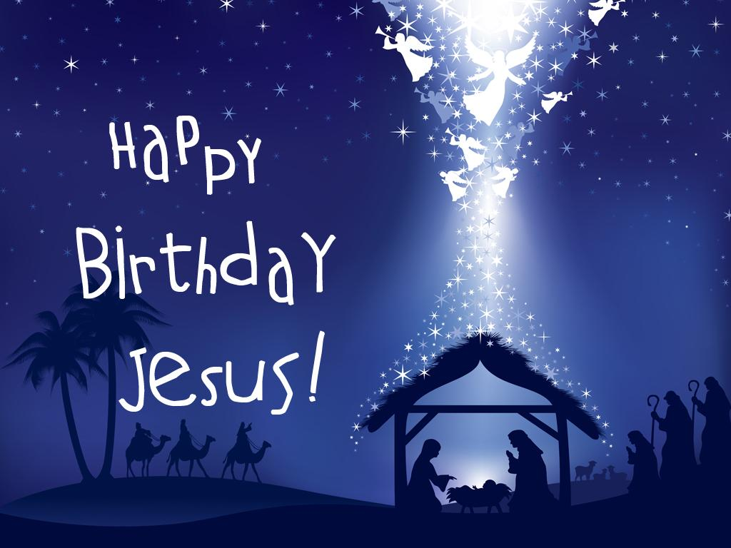 Happy Birthday Jesus Background 3