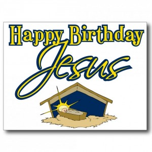 Happy Birthday Jesus Banner 2 300×300