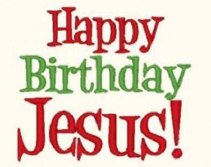 Happy Birthday Jesus Banner 6 300×238