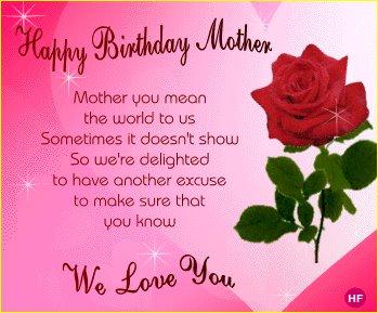 Happy Birthday Mother 3