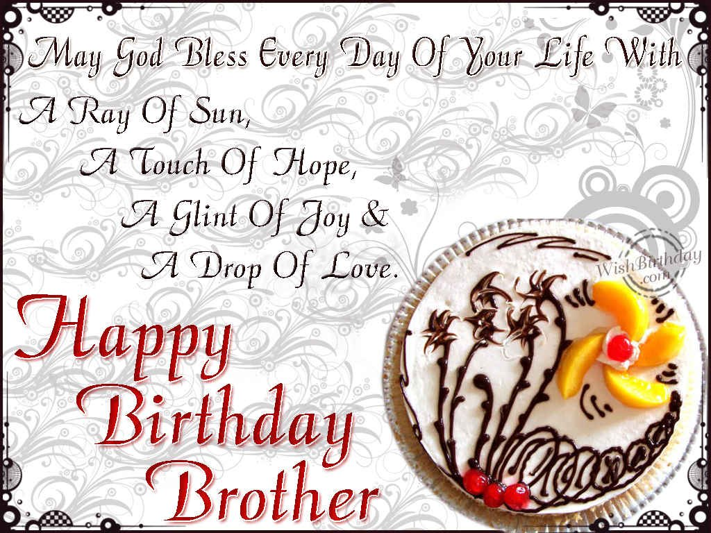 Happy Birthday My Brother 11
