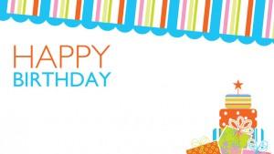 Happy Birthday Poster Printable 2 300×169