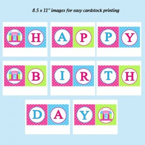 Happy Birthday Poster Printable 6 300×300