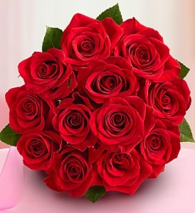 Happy Birthday Red Roses Bouquet 4 274×300