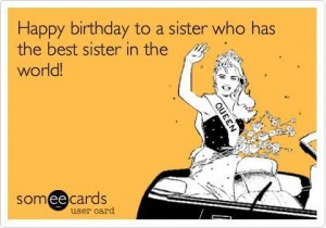 Happy Birthday Sister Ecards 4 300×210