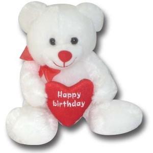 Happy Birthday Teddy Bear Scraps
