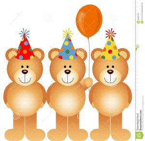 Happy Birthday Teddy Bear 23 300×290