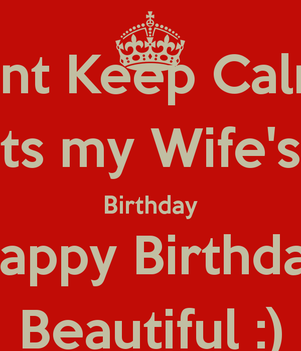 Happy Birthday To My Wife 3