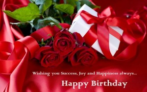 Happy Birthday Wallpaper With Red Rose 4 300×188