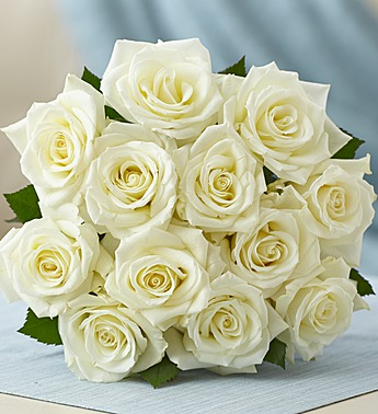 Happy Birthday White Roses Images 12