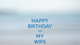 Happy Birthday Wife 7 262×148