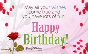 Happy Birthday Wishes Messages In English