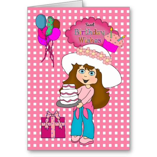 Happy Birthday Wishes For Kids Girl 12