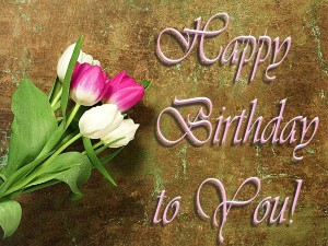 Happy Birthday Wishes Images Flowers 13 300×225