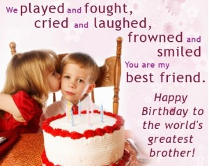Happy Birthday Wishes Images For Brother 3 300×238