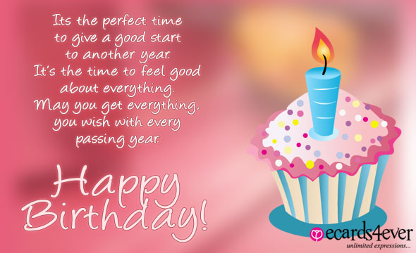 Happy birthday wishes message on facebook