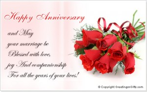 Happy Wedding Anniversary Wishes 3 300×189