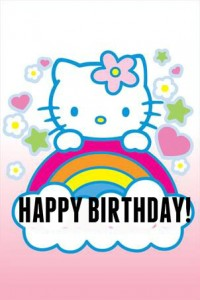 Hello Kitty Happy Birthday 24 200×300