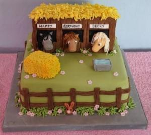 Horse Birthday Cake 5 300×269
