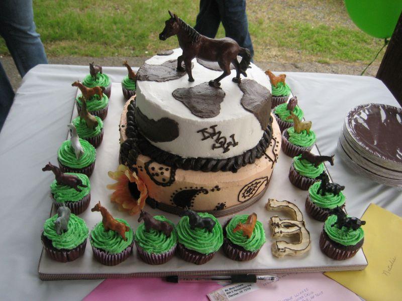 Horse Birthday Cake 6
