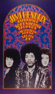 Jimi Hendrix Psychedelic Poster 6 177×300