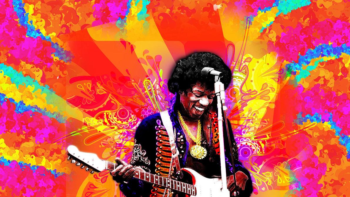 pics photos jimi hendrix psychedelic