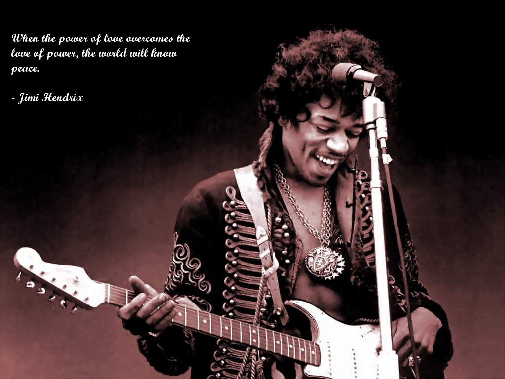 Jimi Hendrix Quotes Wallpaper 2