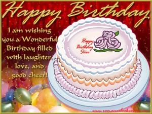 Lovely Birthday Cake Wallpapers 7 300×225