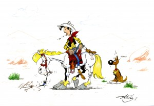 Lucky Luke Jolly Jumper 10 300×208