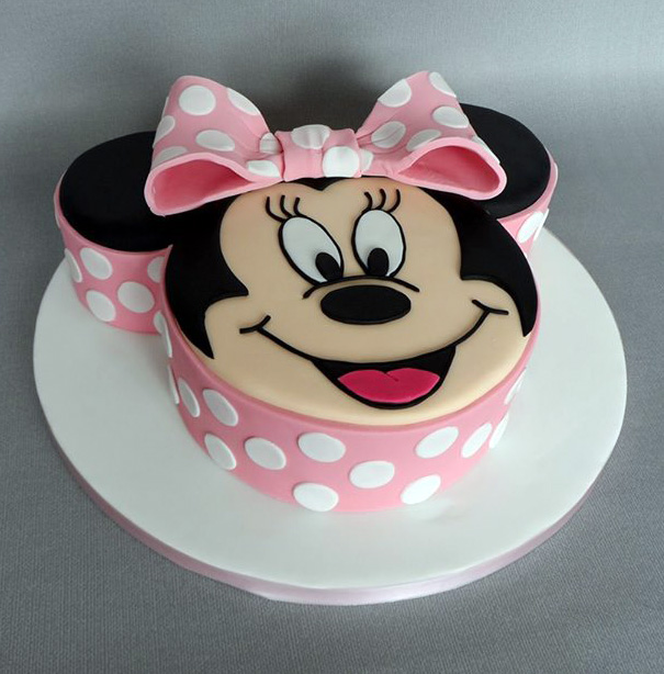 Minnie Mouse Birthday Cake Fomanda Gasa