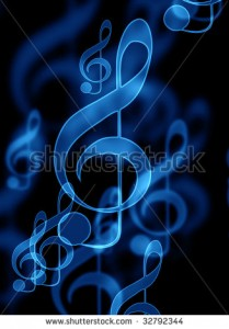 Music Background Black And Blue 5 209×300