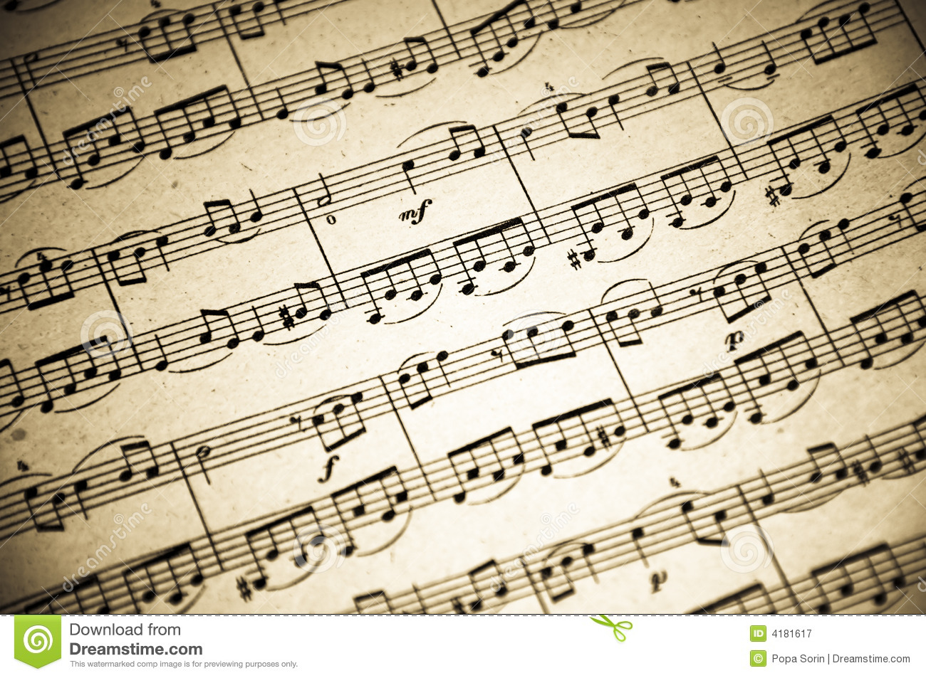 Music Notes Background 5