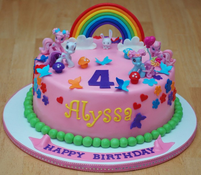 My Little Pony Birthday Cake 5