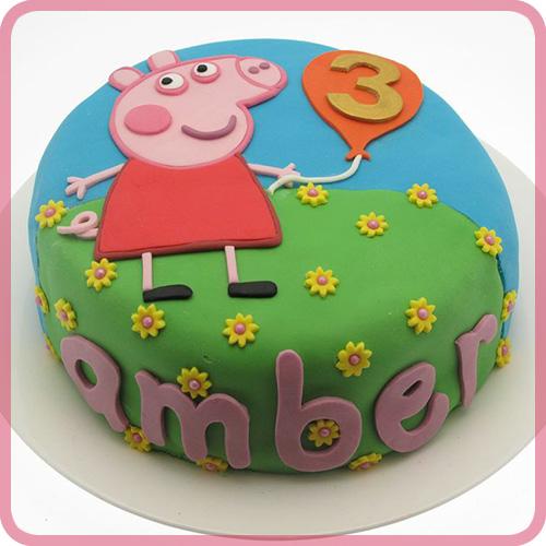 Best Peppa Pig Birthday Cake