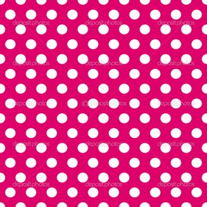 Pink And White Polka Dot Wallpaper 3 300×300