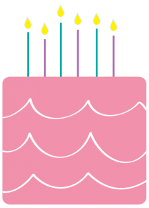 Pink Birthday Cake Clip Art 6 216×300