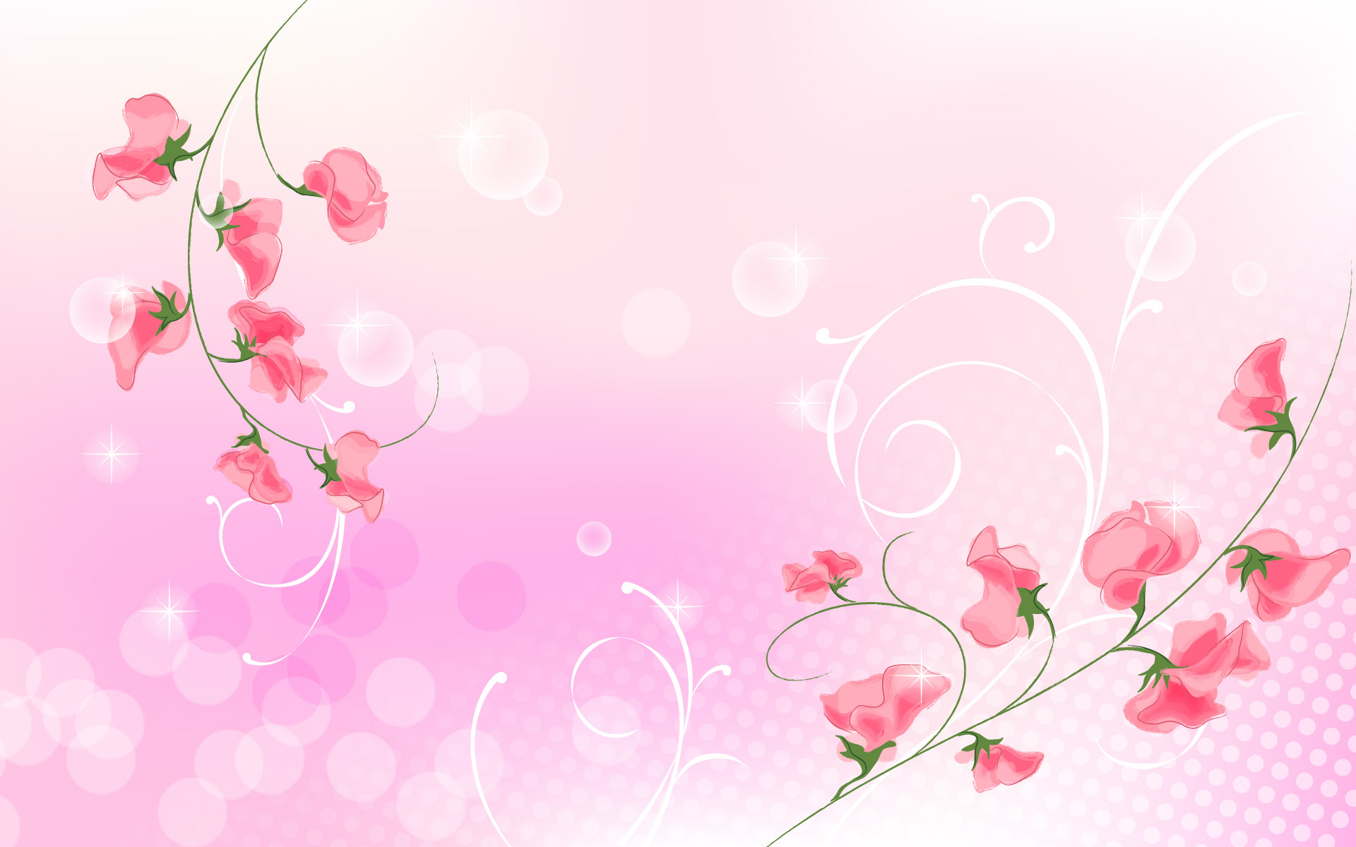 Pink Wedding Background 5