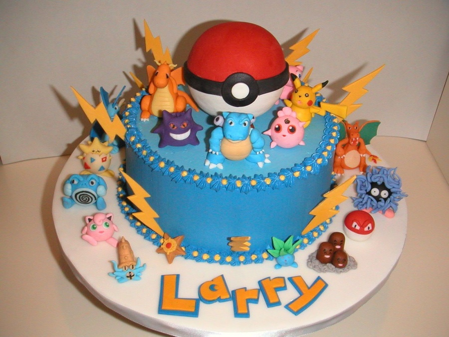 Pokemon Birthday Cake 8