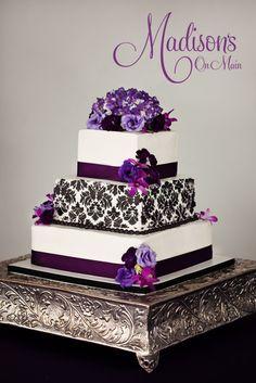 Black And Purple Wedding Cake Ideas - 5000+ Simple Wedding Cakes