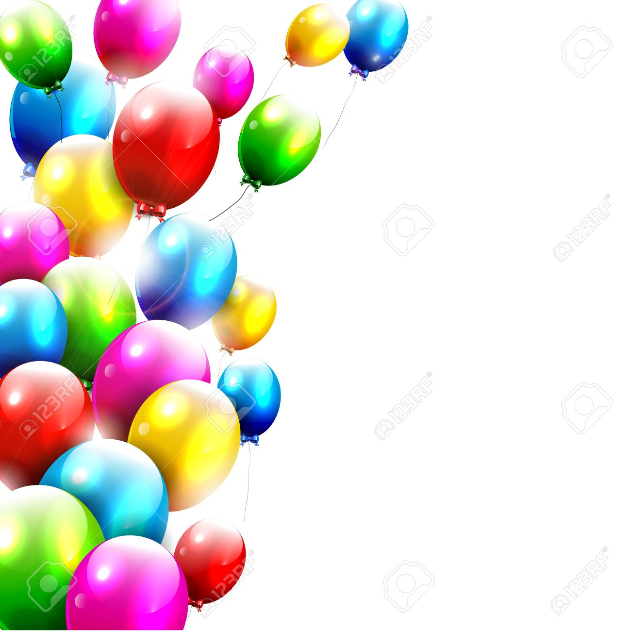 The gallery for Real Birthday Balloons Background