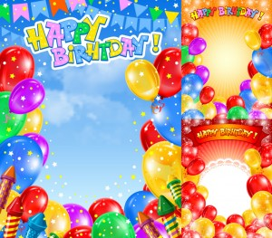 Real Birthday Balloons Background 7 300×263