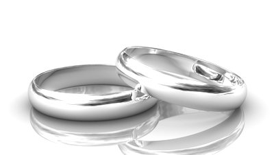 silver wedding rings - Wedding Rings Silver