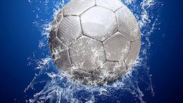 Soccer Balls On Water 1